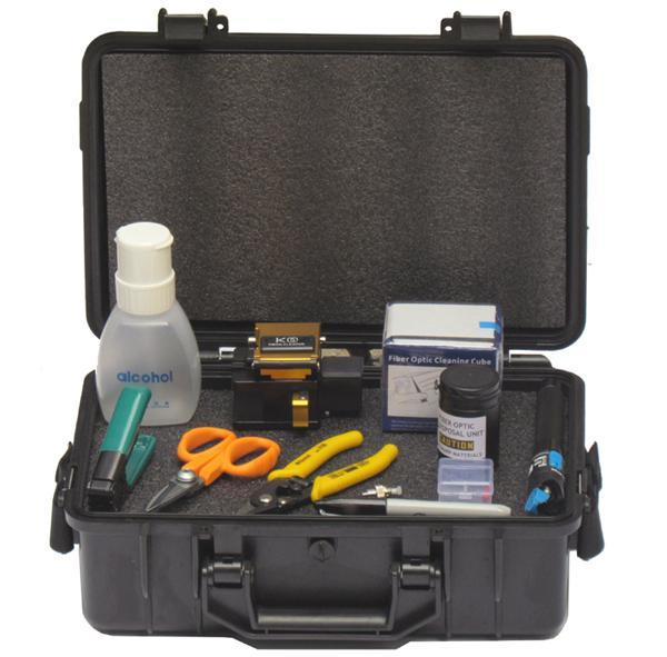 Fast Connector Tool Kit FTK-03 The FAST Connector Tool Kit provides all of the necessary installation tools required for fiber preparation of 250um or 900um fibers, or 900um, 2mm or 3mm cordage for