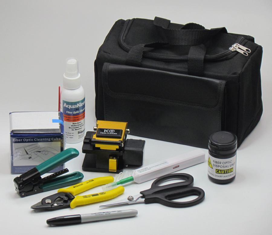 FAST Connector Termination Kit FTK-10 FAST Connector Termination Tool Kit contains all the tooling you need to prepare the fibre optic cable (breakout, stripping and cleaving) for termination with