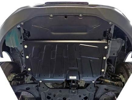 Ford Undershields Product Details Protects vehicle engine and transmission Easy to fit, with no drilling required, as the undershield is fixed to existing vehicle body apertures Fitting time: approx.