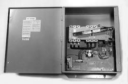I.B. ATS-RT03 Page 3 The catalog number RTHEFDA30100BSU describes an automatic transfer switch with the switching devices mounted horizontally in the enclosure.