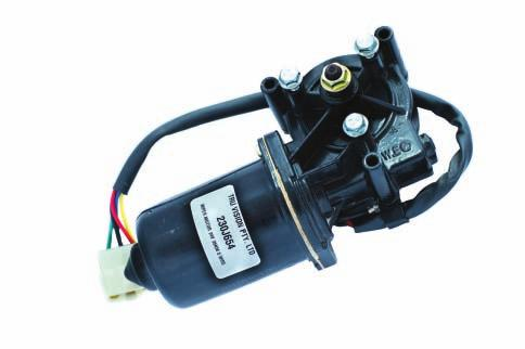 DC Electric Wiper Motors PART No: 230J654-24 volt PART No: 230J652-12 volt TECHNICAL SPECIFICATIONS VOLTAGE TEST VOLTAGE BRAKE TORQUE WORKING TORQUE NOISE NO-LOAD SPEED ( LOW ) NO-LOAD SPEED ( HIGH )