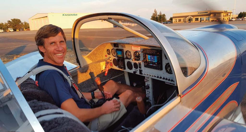 STORY MEET THE MAYOR OF ROHNERVILLE Everywhere that I fly, people comment on how cool my RV6 airplane is.