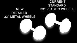 98 To order go to: http://www.pwrs.id=13821 All-New 33 Metal Wheels From Micro-Trains!