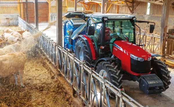 17 FROM MASSEY FERGUSON Robust & modern rear axle The MF 4700, MF 5700 and MF 6700 tractors are built for hard work and to meet these demands they are