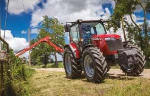 FROM MASSEY FERGUSON From the ergonomically crafted right-hand side console and controls, to the smartly positioned gear and range levers and functional dashboard, nothing is missing to make your