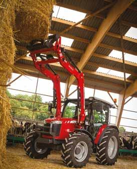 Your tractor will come complete from the factory with the loader subframe, designed for maximum
