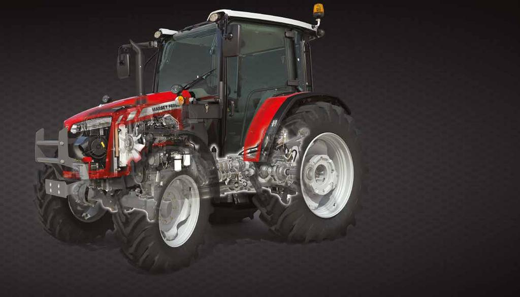 03 New AGCO Power Engines Fuel efficient and powerful 3 or 4 cylinder engines compliant to the latest emissions standards Learn more on Page 8-9 A true tractor/loader combination Your tractor can be