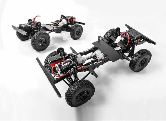 1:10 scale performance r/c truck rtr with defender d90 body set 15 16 CAST METAL AXLES WITH LOCKED DIFFERENTIALS CUSTOM DESIGNED FOR TRUE TO SCALE