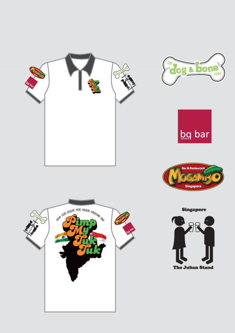 For the Sri Lanka Challenge we plan to sell the t-shirts which we will promote through constant marketing and the