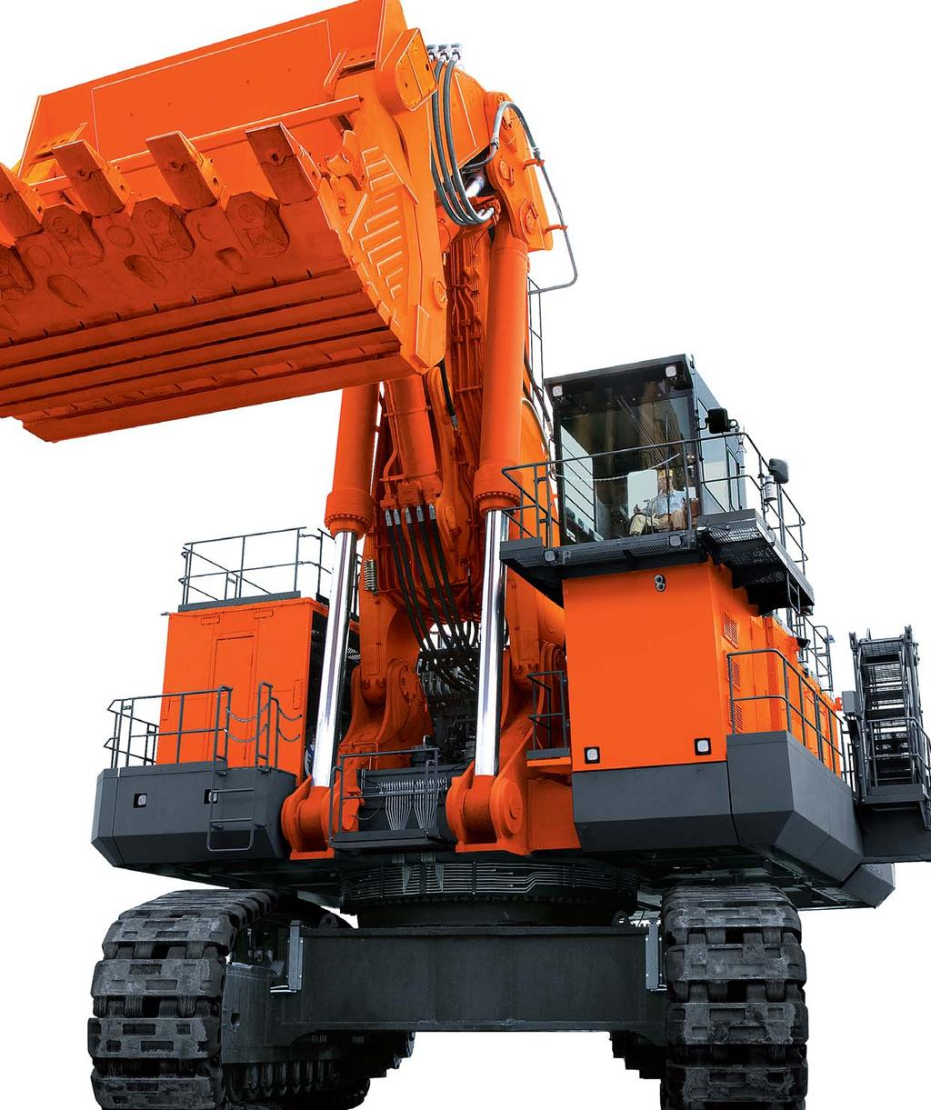 EX- series HYDRAULIC EXCAVATOR Model Code : EX00- Engine Gross Power : x 1 0 kw ( x 1 00 HP) Operating Weight : Loading Shovel :
