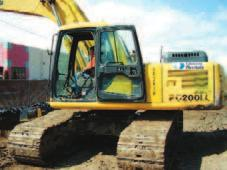 DAY 1 FRIDAY, NOVEMBER 17, 2006 STARTS 10:00 A.M. LATE-MODEL CONSTRUCTION & RENTAL EQUIPMENT HYDRAULIC EXCAVATORS KOMATSU PC200LC-6LE Excavator, w/thumb, 45k, 5,310 hrs., s/n A84372.