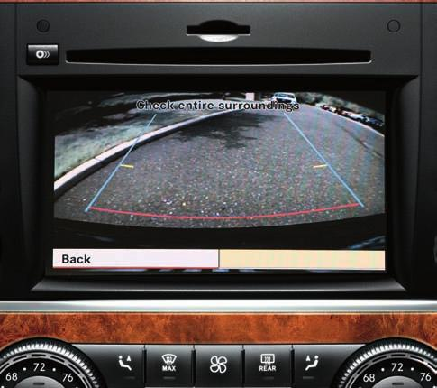 "Its COMAND system unites a 6 DVD/CD audio/video system with a high-resolution 6.5"" in dash display."