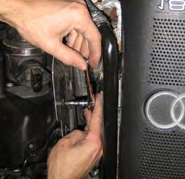 Step 7: On the side of the airbox is a metal shield.
