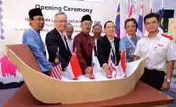 The exhibition was jointly organised by Pos Malaysia, the Philatelic Society Malaysia, MCMC and the Ministry of Communications and Multimedia Malaysia, from 3-6 December 2015 in Melaka.