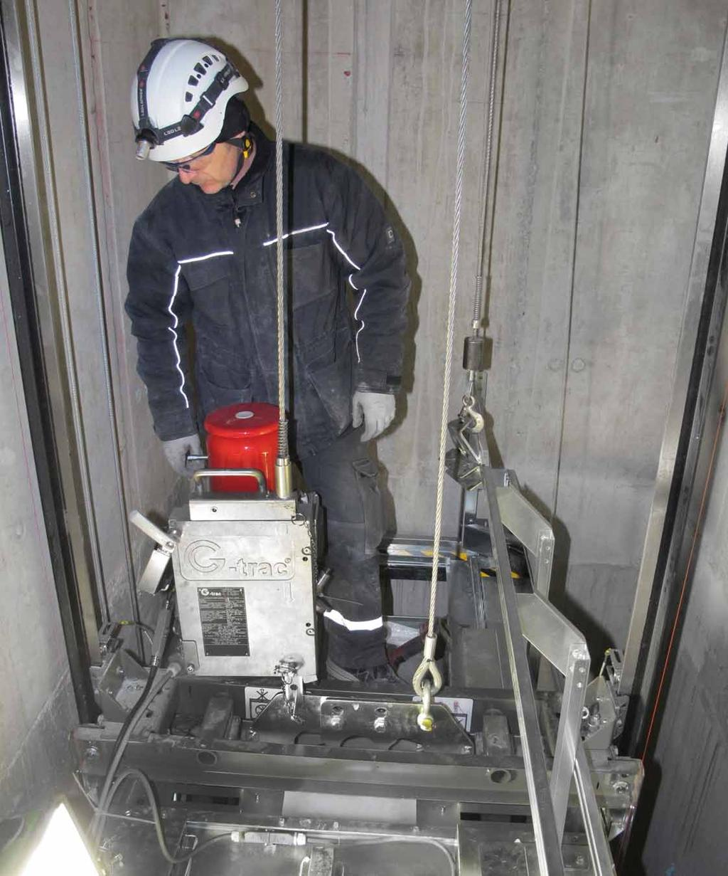 www.goracon.com Scaffold-free lift installation solutions from saves time and money. We provide mobilty during the installation phase until a drive for your lift has been installed.