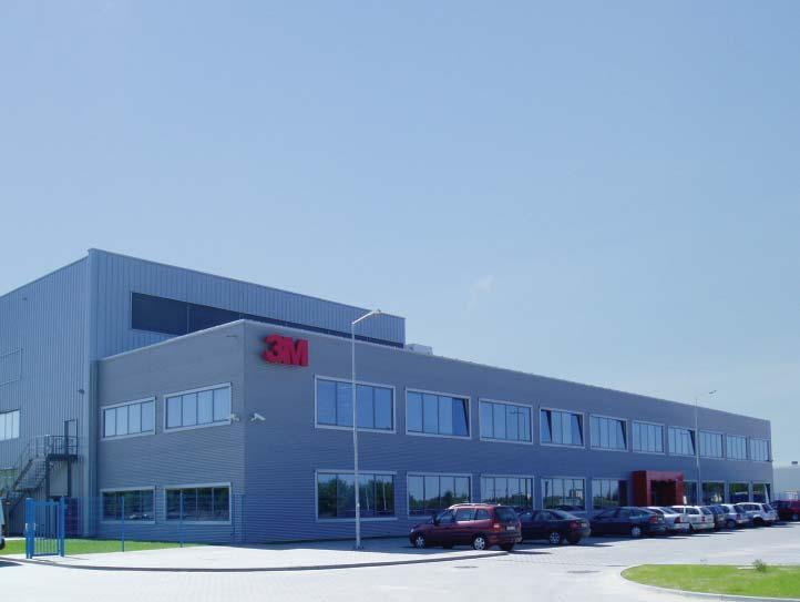Storage & Logistics 3M WROCŁAW SP. Z O.O. CEY IMMO S. R. L. 3M 3M Wroclaw Sp. Z o.o. Poland Cystar Glass CEY IMMO S. R. L. Romania A new, state-of the-art, 8,500m² manufacturing facility was recently built in less than 5 months.