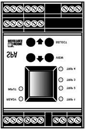 Instruction Manual OCX 8800 Figure B-3. SPA Jumper and Dip Switch Settings NOTICE REMOVE THIS PANEL FOR SERVICE ACCESS. STATIC SENSITIVE.