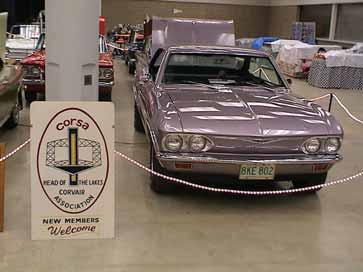 Linder and Dan Rutka displayed their cars at the show.