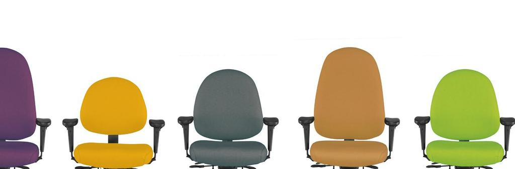 Choose a Genesis Task Chair, there is a version just right for you!