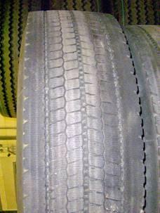 Tyre type size character Steering type 315/80-22,5 Cs Gs Ms Ms worn Ms slick Traction type 315/80-22,5