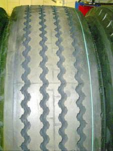 3: picture of a sample of test tyres Since the objective of the measurement program was to generate