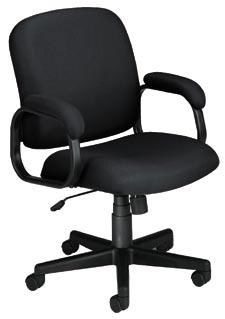 Chair Pairs for a coordinated look High-back and mid-back styles for office or conference room.
