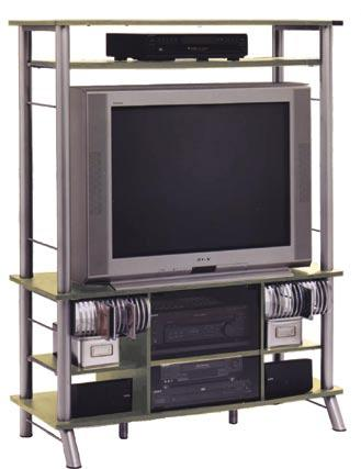 "TELEVISION & COMPUTER FURNITURE Model 32908 A Complete Center for your Audio/Visual Components Get everything into one organized place with our A/ V center. TV area is 42"" W x 32 ¼"" H."