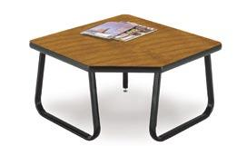 Our very popular Sled-base Tables Strong and Durable