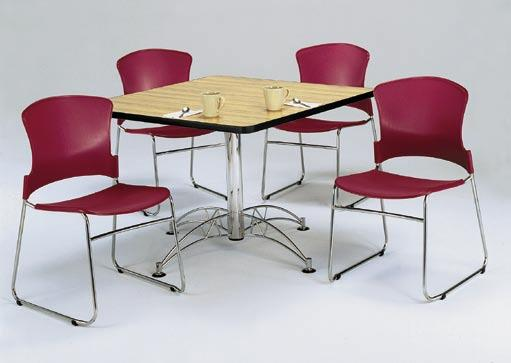 Multi-Purpose Tables Perfect for Break Rooms, Small Meetings, or Projects Our tables are high-pressure laminate over honeycomb core making them both strong and lighter in