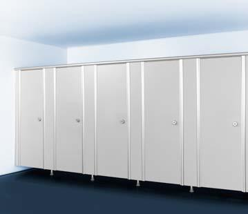 m without support legs Height RP + RF Cubicle or 2145 mm 150 mm 1985 mm Cubicle: 2285 mm 150 mm 2125 mm Version without clearance