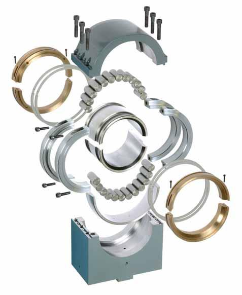 CONTINUOUS SLAB CASTER BEARINGS Specialists in steel for decades, Cooper Bearings offer optimum