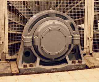 supplied for a tower mounted winder in a copper mine.