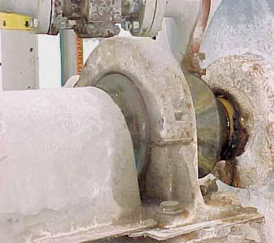 bearings are shown in use on agitators in the paper industry.