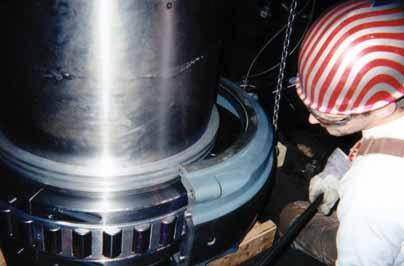 The elimination of oil lubrication was also a bonus for the customer as they could comply with