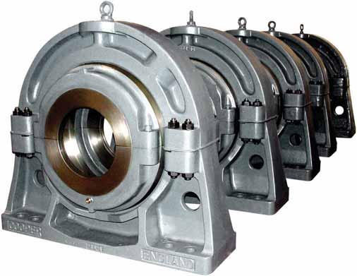 thrust and radial roller bearings of any size up to 1.