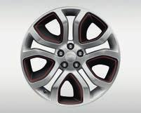 (1) Not available with 150hp engine (2) Accessory wheels must be selected with either a standard or optional wheel and incur an