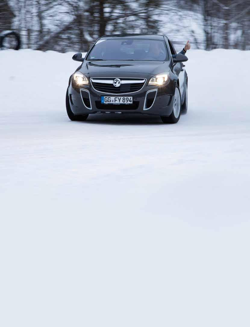 brand management Tyre and Ice A group of guests took the phrase going for a spin quite literally when they drove 4x4 Vauxhalls across a frozen lake J ournalists can be slippery at the best of times,