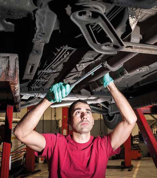OVERDRIVE PEOPLE A DAY IN THE LIFE Quantum mechanic Jon Ceely, a Senior Service Technician at Retailer Motorbodies, reveals the job is becoming more about software than spanners 8:00: Finally made it