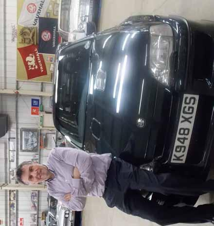 Friends reunited - Stuart Harris with the outlandishly quick Lotus Carlton Pivot point In this new feature, we ask Vauxhall employees to recount an important or exciting moment during their careers.