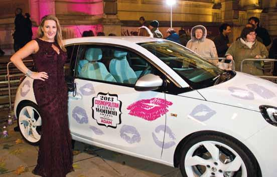 Sponsored by ADAM, the glittering event hosted by Fearne Cotton was held to showcase women who had overcome adversity and shown true bravery in challenging circumstances.