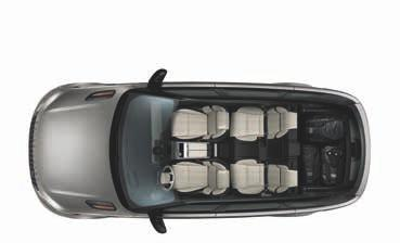 headroom with panoramic roof 970mm Rear headroom 966mm Legroom Loadspace width (max) 1,247mm