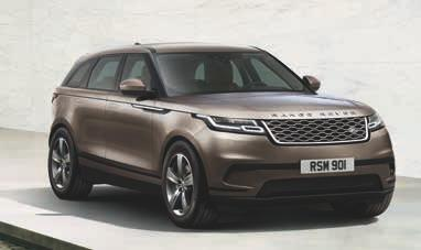 3 CHOOSE YOUR SPECIFICATION PACK This guide will help you select your ideal Range Rover Velar.