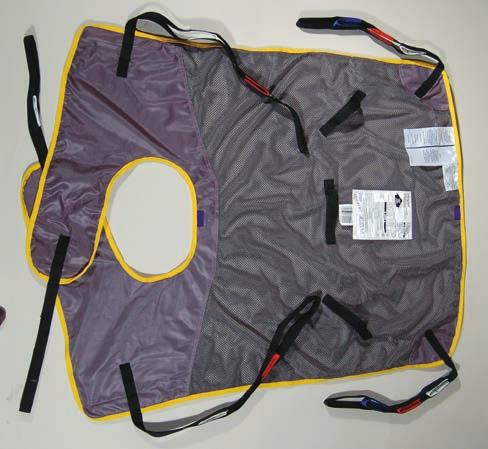 NC1058 051121 Each Quick Fit Mesh ath Deluxe Sling Easy-to-fit, general purpose, extra handle in the back for easier transfers. Maximum capacity for all sizes: 500 lbs.