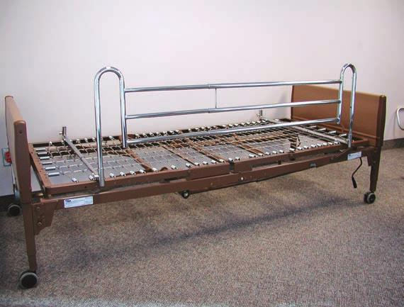 (A) 000570 Each edside Rails Use two rails for bed set-up, for use with Invacare beds only. Not to be used as a transfer aid.