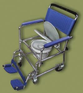 "casters with four locking brakes, detachable swing away foot rests, seat height 19"", width 18"", depth"