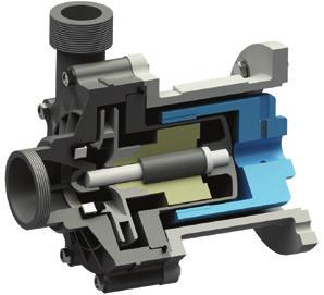AGDRIVE ENRIFGA S SEAESS AG DRIVE ENRIFGA S In sealless magnetic drive centrifugal pumps, the external magnet is directly connected to the motor shaft and it transmits the torque to the internal