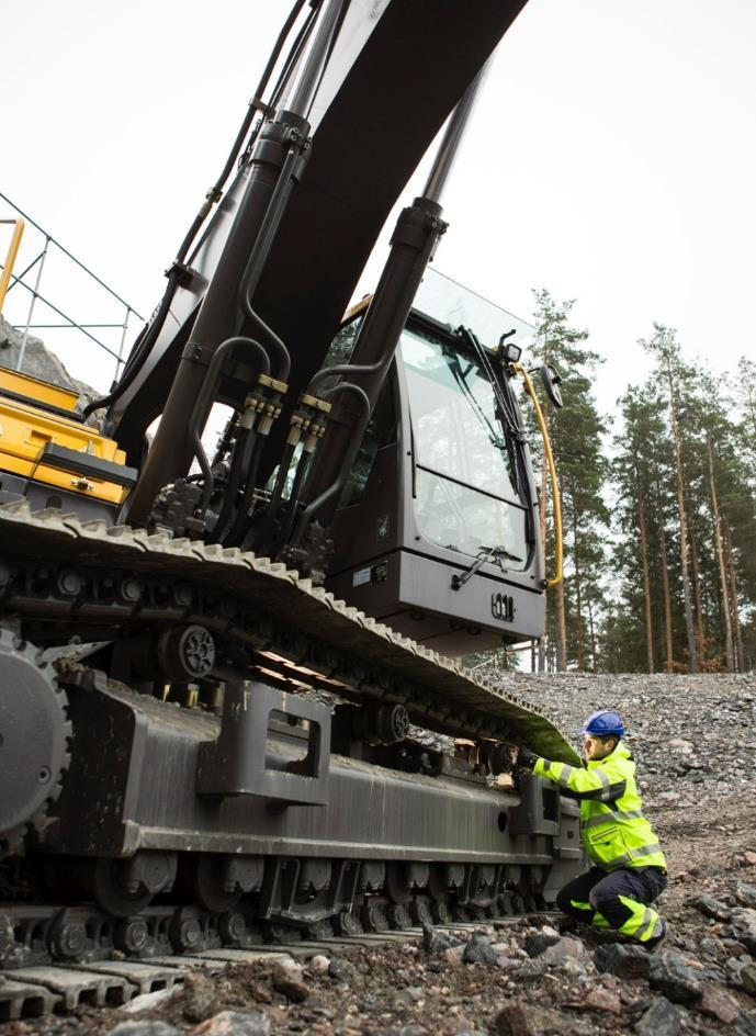 Volvo Construction Equipment is a recognized industry leader in the field of safety.