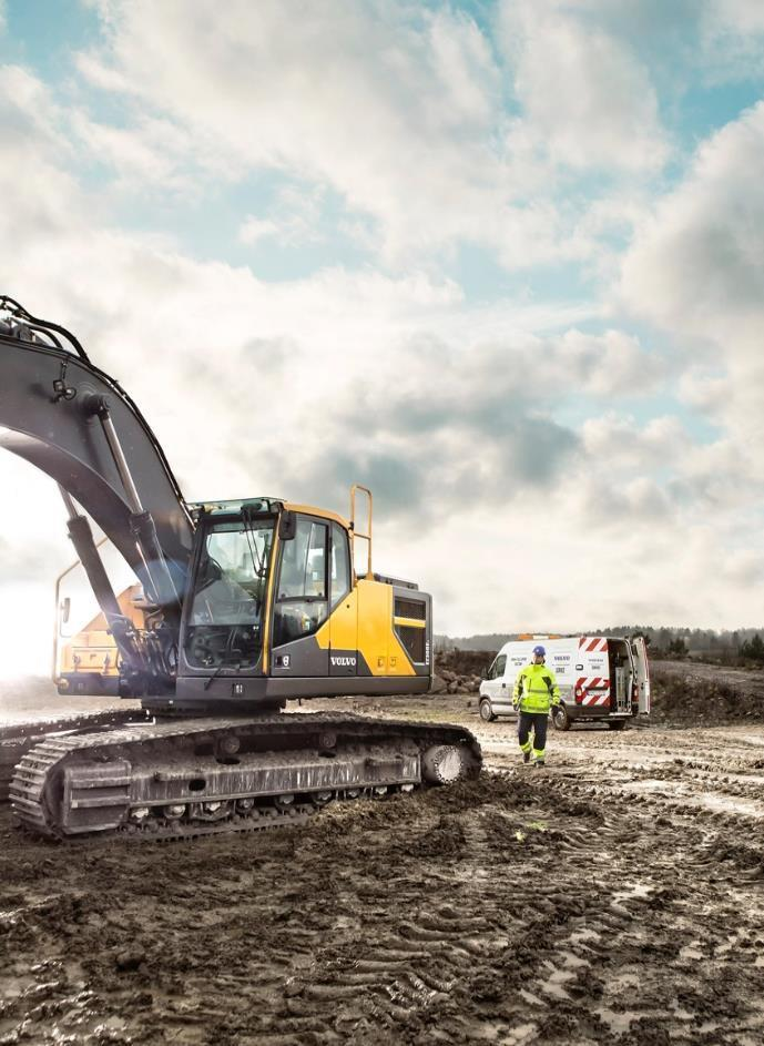 Volvo Construction Equipment s commitment to quality starts by our vision is to be the model of excellence and care.