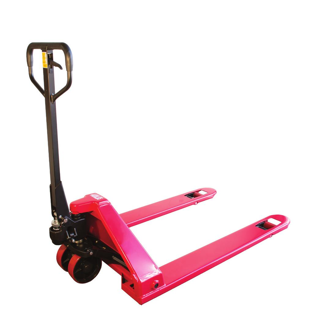 Features the quality of our AC model standard hand pallet truck.