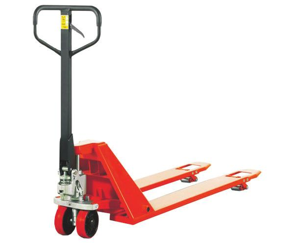 PJ4400-2748-ACL 4400 lb. Low Profile Pallet Truck Low Profile Pallet Truck Specifications 2 inch 6. 7.1 x 2 inch 2 x 3.